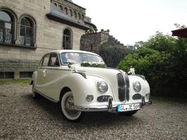 "Oldtimer mieten - BMW 502 ""Barockengel"""