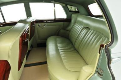 Oldtimer mieten - Rolls-Royce Silver Cloud III - Innenraum